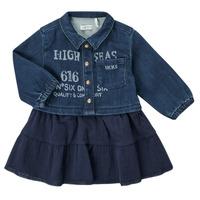 Textiel Meisjes Korte jurken Ikks CHATAIN Marine
