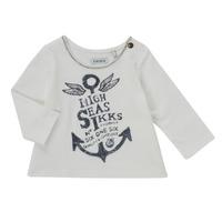 Textiel Meisjes T-shirts met lange mouwen Ikks  Wit