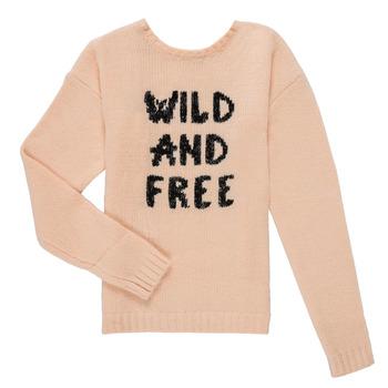 Textiel Meisjes Truien Ikks ISABELLE Roze
