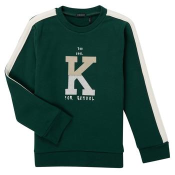 Textiel Jongens Sweaters / Sweatshirts Ikks SINOPLE Kaki