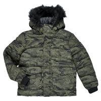 Textiel Jongens Wind jackets Ikks EMERAUDE Kaki