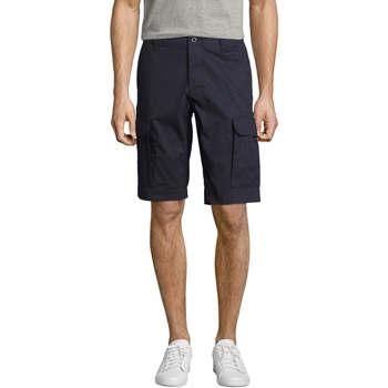 Textiel Heren Korte broeken / Bermuda's Sols Bermuda de hombre Jackson Azul
