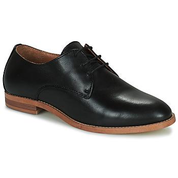 Schoenen Dames Derby Minelli DELINA Zwart