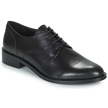 Schoenen Dames Derby Minelli FRANCIA Zwart