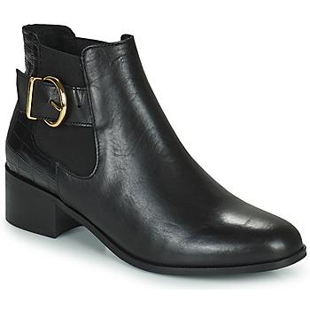 Schoenen Dames Enkellaarzen Minelli ALINNA Zwart