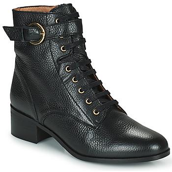 Schoenen Dames Enkellaarzen Minelli CAMILA Zwart