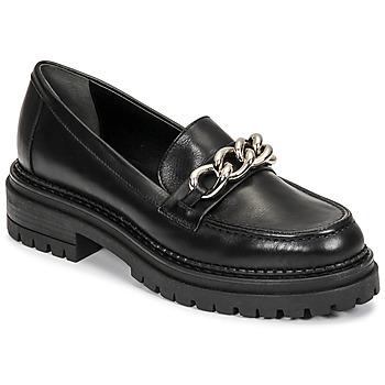 Schoenen Dames Mocassins Minelli MELINDA Zwart