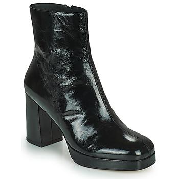 Schoenen Dames Enkellaarzen Minelli BETTYNA Zwart