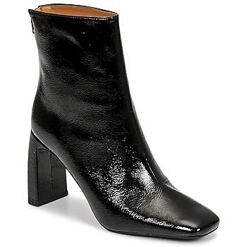 Schoenen Dames Enkellaarzen Minelli CREMIA Zwart