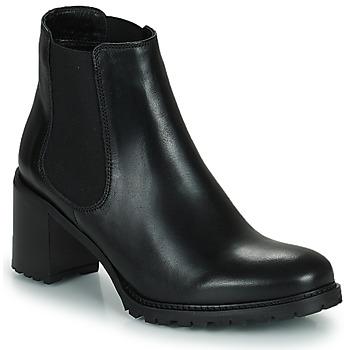 Schoenen Dames Enkellaarzen Minelli PETRINA Zwart