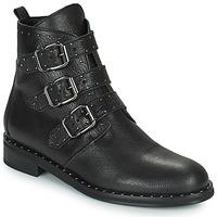 Schoenen Dames Laarzen Minelli FRANILLA Zwart