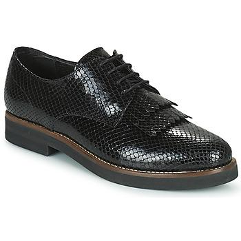 Schoenen Dames Derby Minelli SOLENNA Zwart