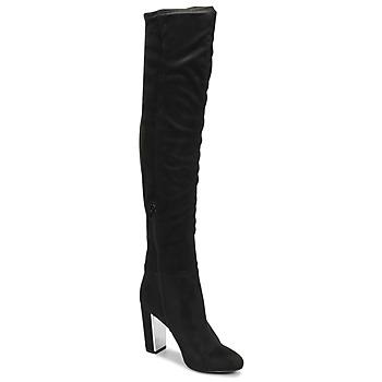 Schoenen Dames Hoge laarzen Minelli  Zwart