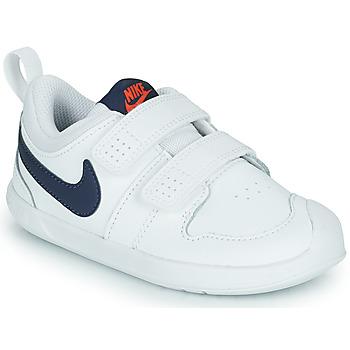 Schoenen Kinderen Lage sneakers Nike NIKE PICO 5 (TDV) Wit / Blauw