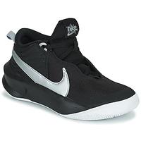 Schoenen Kinderen Hoge sneakers Nike TEAM HUSTLE D 10 (GS) Zwart / Zilver