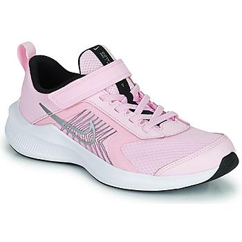 Schoenen Kinderen Running / trail Nike NIKE DOWNSHIFTER 11 (PSV) Roze / Grijs