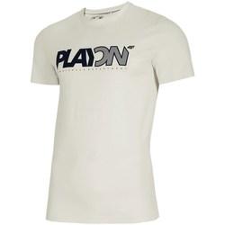 Textiel Heren T-shirts korte mouwen 4F TSM013 Blanc