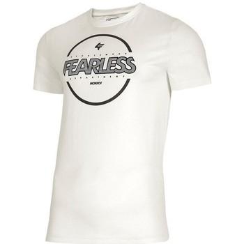 Textiel Heren T-shirts korte mouwen 4F TSM015 Blanc