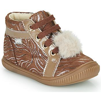 Schoenen Meisjes Hoge sneakers GBB ISAURE Beige