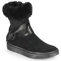 Schoenen Meisjes Hoge laarzen GBB EVELINA Zwart