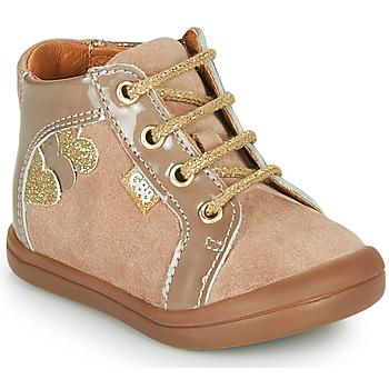 Schoenen Meisjes Hoge sneakers GBB PRUNE Beige