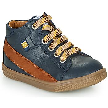 Schoenen Jongens Hoge sneakers GBB WESTY Blauw