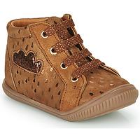 Schoenen Meisjes Hoge sneakers GBB MASHA Brown