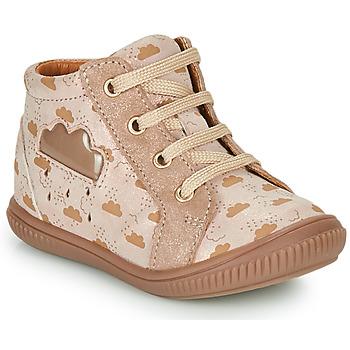 Schoenen Meisjes Hoge sneakers GBB MASHA Beige