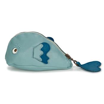 Tassen Kinderen Portemonnees Easy Peasy ZIPPY POISSON Blauw
