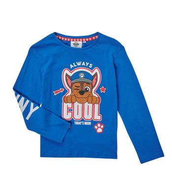 Textiel Jongens T-shirts met lange mouwen TEAM HEROES  TEE PAW PATROL Blauw