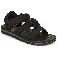 Schoenen Heren Sandalen / Open schoenen Teva M Cross Strap Trail BLACK Zwart