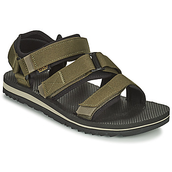 Schoenen Heren Sandalen / Open schoenen Teva M Cross Strap Trail DARK OLIVE Kaki