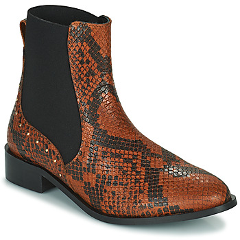 Schoenen Dames Laarzen JB Martin ANGE Brown