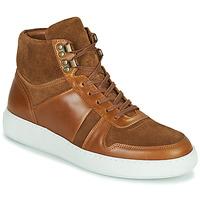 Schoenen Heren Hoge sneakers Pellet ODIN Brown