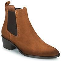 Schoenen Dames Laarzen Fericelli PAMINA Tan