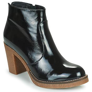 Schoenen Dames Enkellaarzen Fericelli PARMIN Zwart