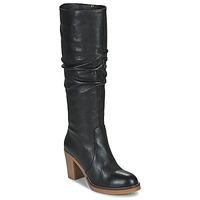 Schoenen Dames Hoge laarzen Fericelli PISTIL Zwart