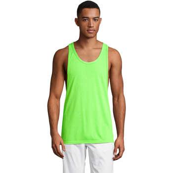 Textiel Heren Mouwloze tops Sols Jamaica camiseta sin mangas Verde