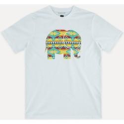 Textiel Heren T-shirts korte mouwen Trendsplant NAVAJO 029940MNAV Wit