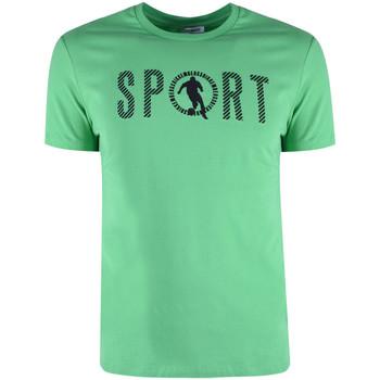 Textiel Heren T-shirts korte mouwen Bikkembergs  Groen