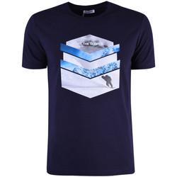 Textiel Heren T-shirts korte mouwen Bikkembergs  Blauw