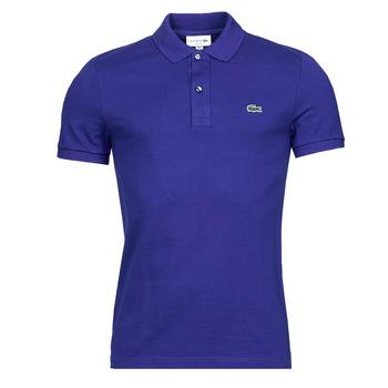Textiel Heren Polo's korte mouwen Lacoste POLO SLIM FIT PH4012 Blauw / Roi