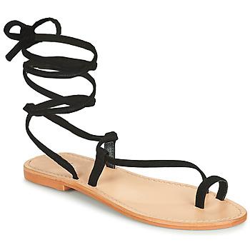 Schoenen Dames Sandalen / Open schoenen Jonak WALT Zwart