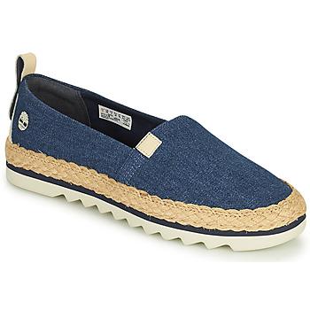Schoenen Dames Espadrilles Timberland Barcelona Bay Classic Textile Blauw