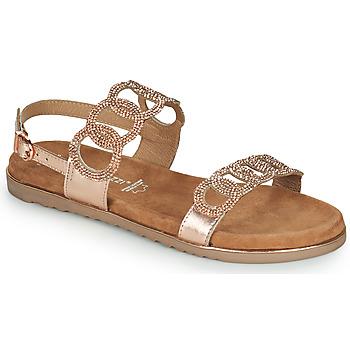 Schoenen Dames Sandalen / Open schoenen Marco Tozzi BLERINA Roze