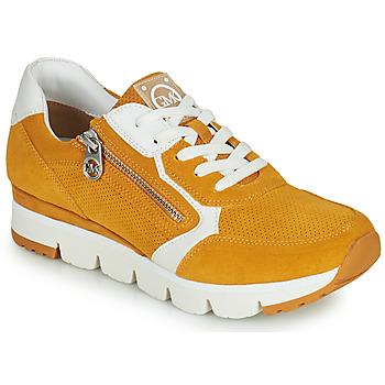 Schoenen Dames Lage sneakers Marco Tozzi NERIANA Geel