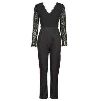 Textiel Dames Jumpsuites / Tuinbroeken Betty London PARILLO Zwart