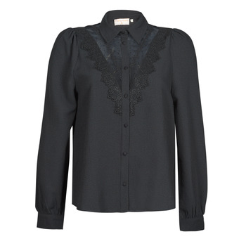 Textiel Dames Overhemden Moony Mood PABBECOURS Zwart