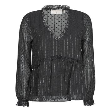 Textiel Dames Tops / Blousjes Moony Mood PABBENANT Zwart