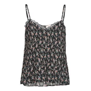 Textiel Dames Tops / Blousjes Moony Mood PABERES Zwart / Multicolour